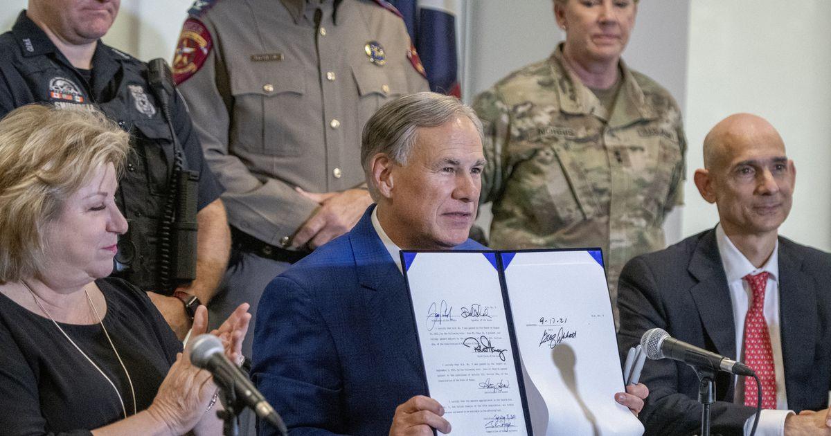 Gov. Abbott signs nearly $2 billion border security bill funding Texas border wall construction