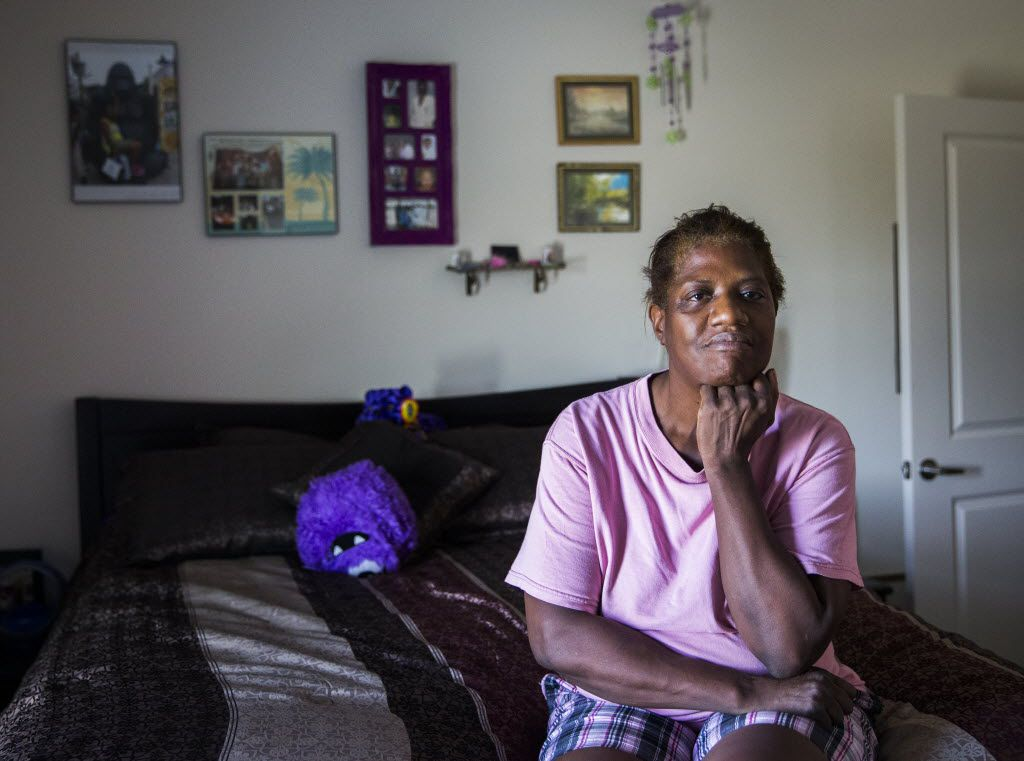 Debra Cavett moved into the Millennium apartments in McKinney shortly after they opened in the spring of 2015. The low-income rentals were built with federal tax credits awarded by the Texas Department of Housing and Community Affairs.