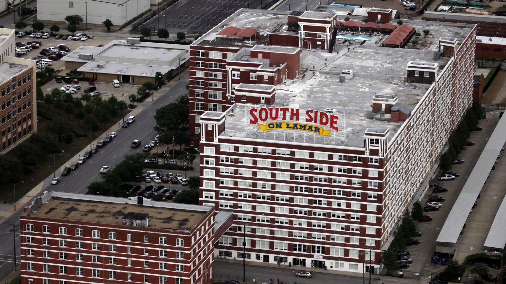 Matthews Southwest developed the nearby South Side on Lamar project located just east of the Sportatorium site.