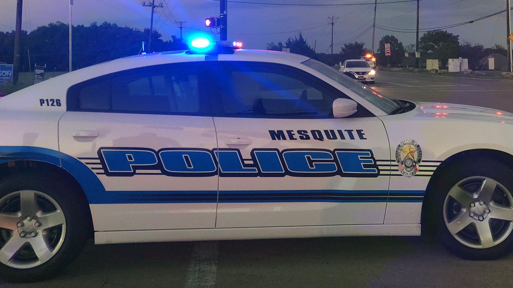 File photo of a Mesquite police vehicle.