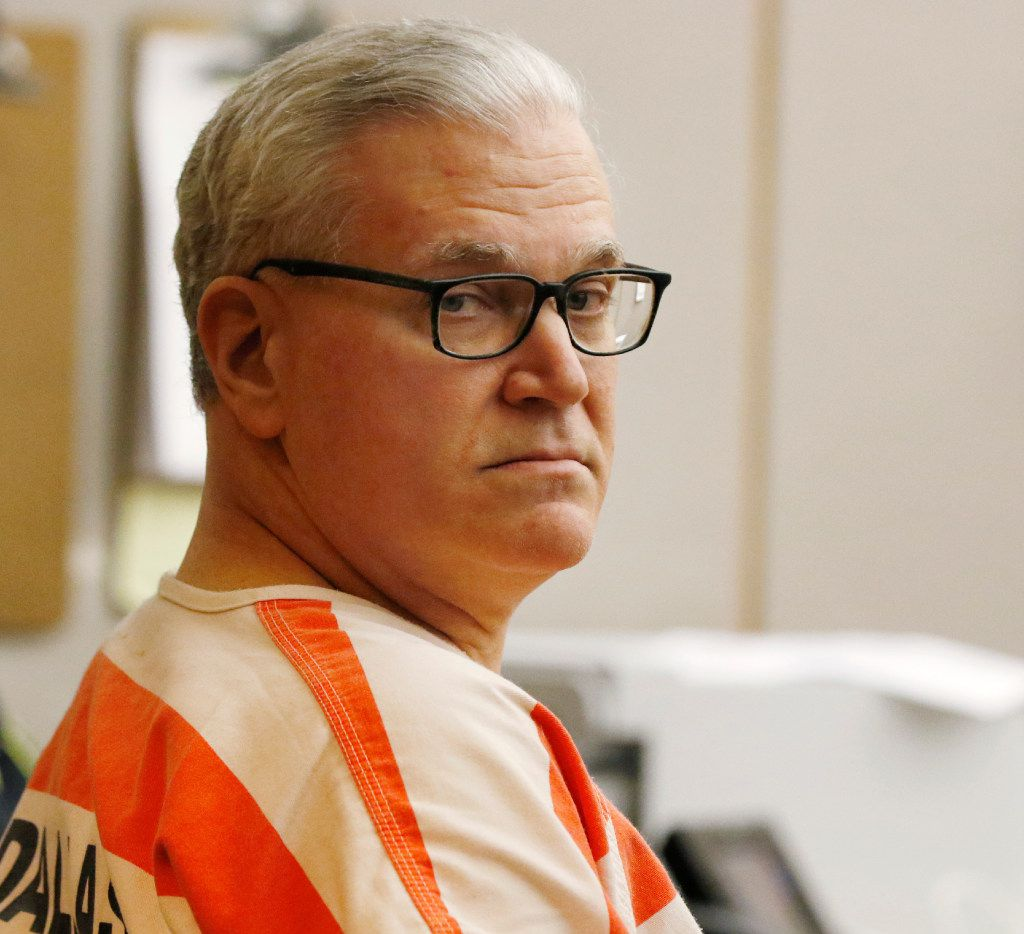 John Battaglia at his competency hearing.