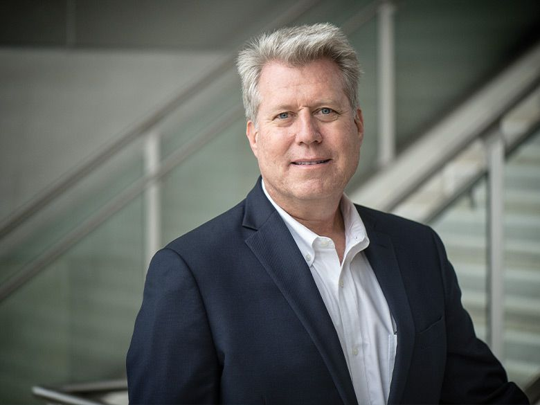 Jon Weidanz, the founder and director of the North Texas Genome Center at UT-Arlington, poses for a portrait.