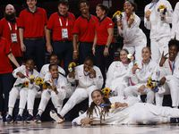 Several members of Team USA women's basketball, which won gold at the Tokyo Olympics in August, included their names on a brief filed to the Supreme Court in support of abortion rights.