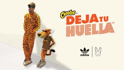 Cheetos is partnering with Puerto Rican rapper and singer Bad Bunny on a athletic leisurewear line that drops Aug. 6.