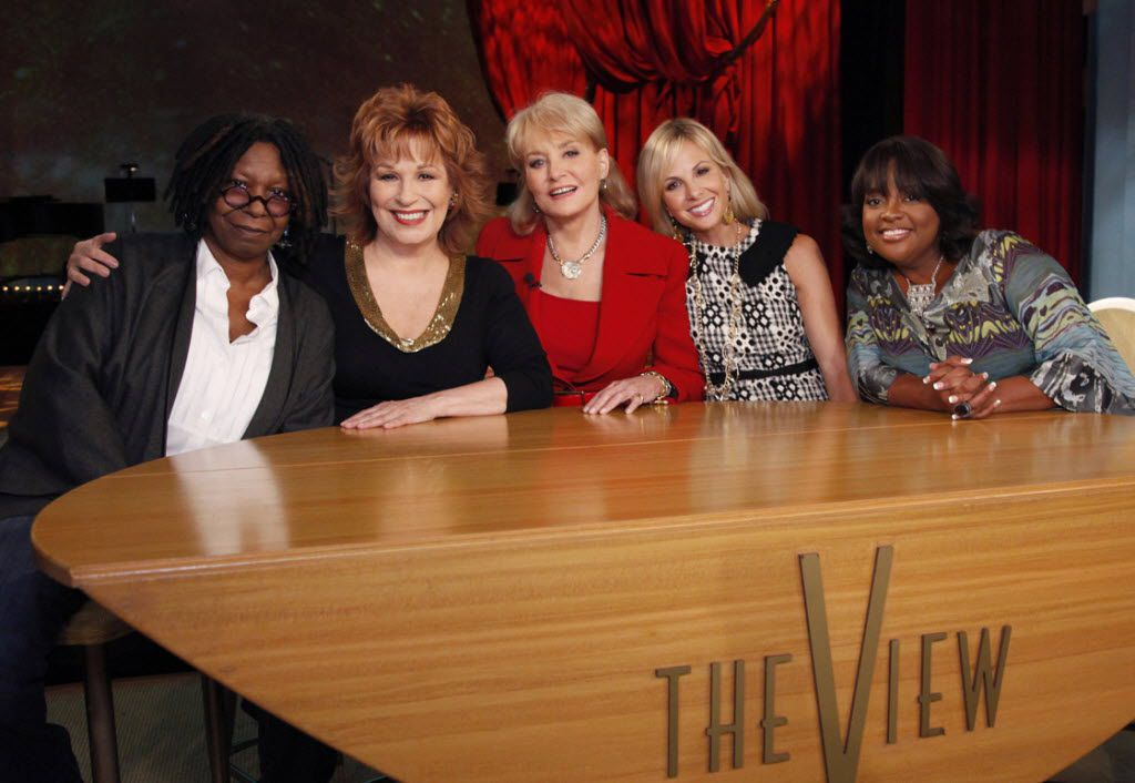 Whoopi Goldberg (from left), Joy Behar, Barbara Walters, Elizabeth Hasselbeck and Sherri Shepherd have all appeared on the hit daytime show The View.