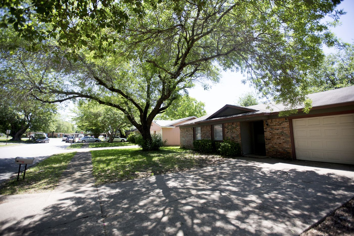 The home where 15-year-old Jordan Edwards attended a party before he was fatally shot in the head by a police officer in Balch Springs on April 29.