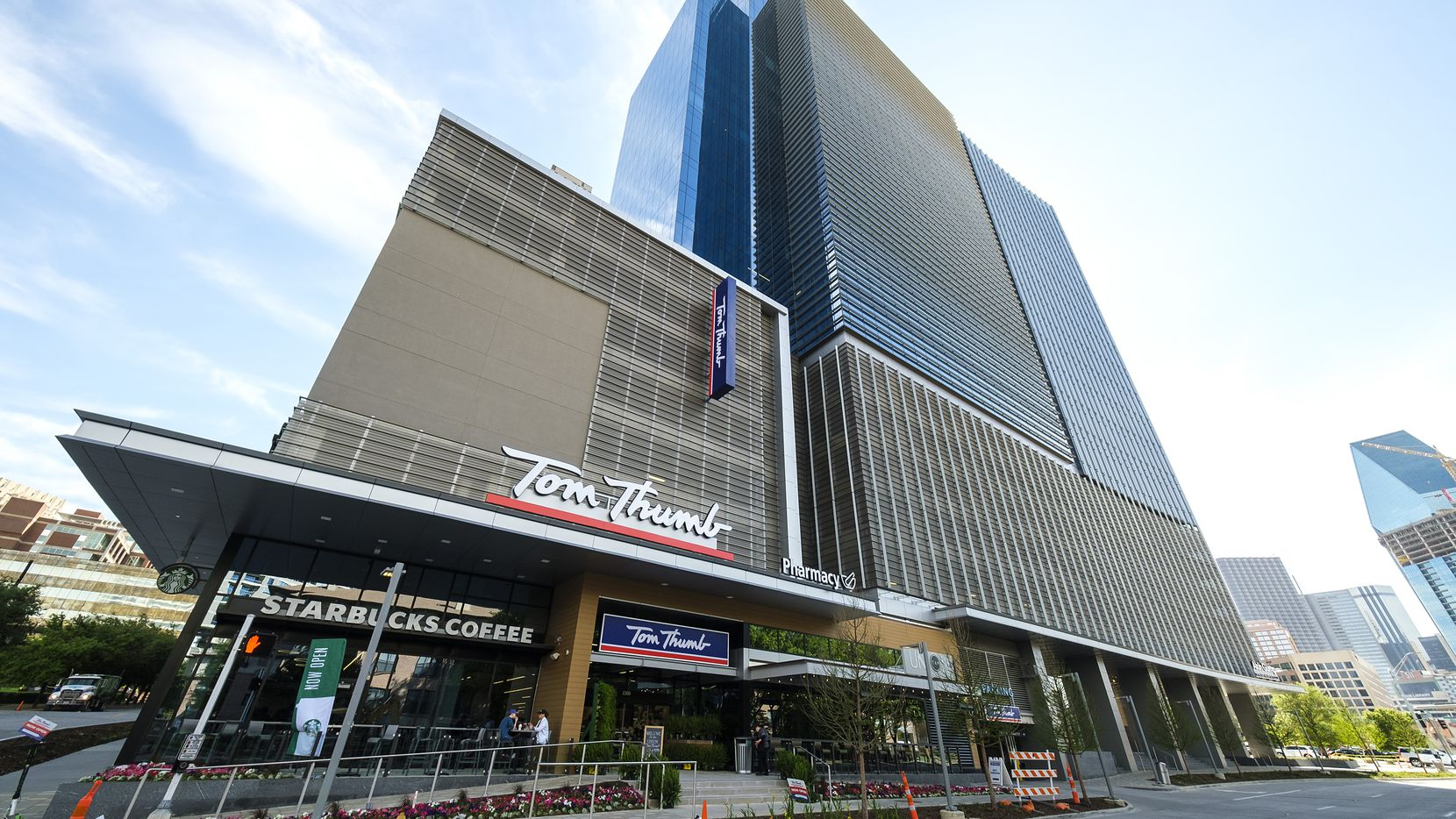 The Union in Dallas' Uptown district includes a Tom Thumb grocery store, restaurants and office space.