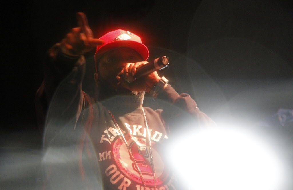 Bun B performs during 35 Denton in 2012.