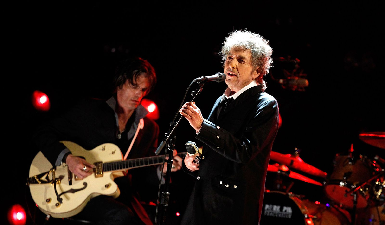 Musician Bob Dylan performs during the 17th Annual Critics' Choice Movie Awards held at The Hollywood Palladium on Jan. 12, 2012 in Los Angeles.