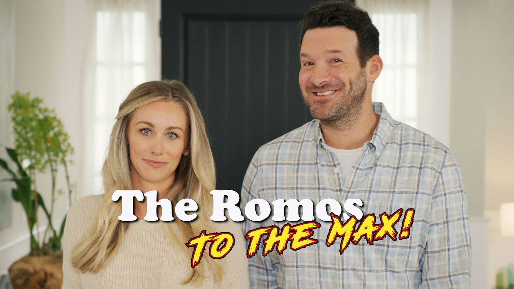 Tony Romo and his wife, Candice Crawford, starring in Skechers' Super Bowl LV advertisement.