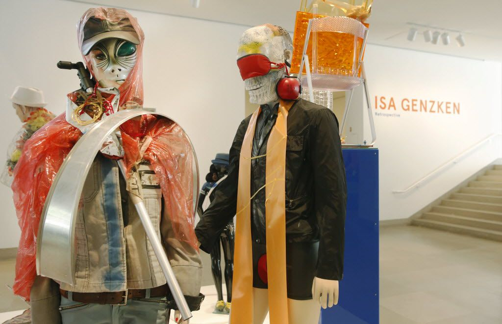 The Isa Genzken retrospective at the Dallas Museum of Art in 2014.  (File Photo/Staff)