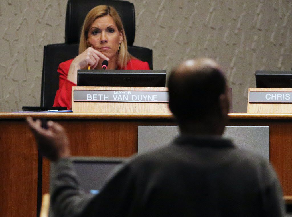 Many have speculated that Irving Mayor Beth Van Duyne may join the Trump administration, though she did not reveal her plans Thursday. (2015 File Photo/Staff)