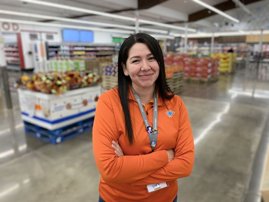Lucy Moreno is the manager of Sam's Club Now, a lab store for the warehouse club division of Walmart that opened a year ago on Lower Greenville in Dallas.