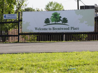 The exterior Brentwood Nursing & Rehab on April 24, 2020 in Dallas. (Juan Figueroa/ The Dallas Morning News)