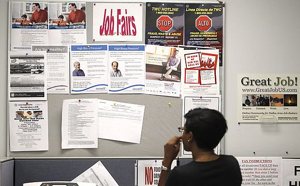 Texas has been lagging the U.S. in job growth for the past four months, and in September, the statewide unemployment rate topped the national level. In Texas, every major job sector has fewer jobs than a year ago.