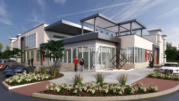The new Results Center building will open late this year.