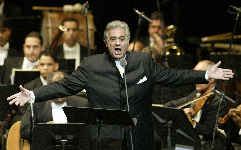 El tenor Plácido Domingo en una fotografía de 2004.