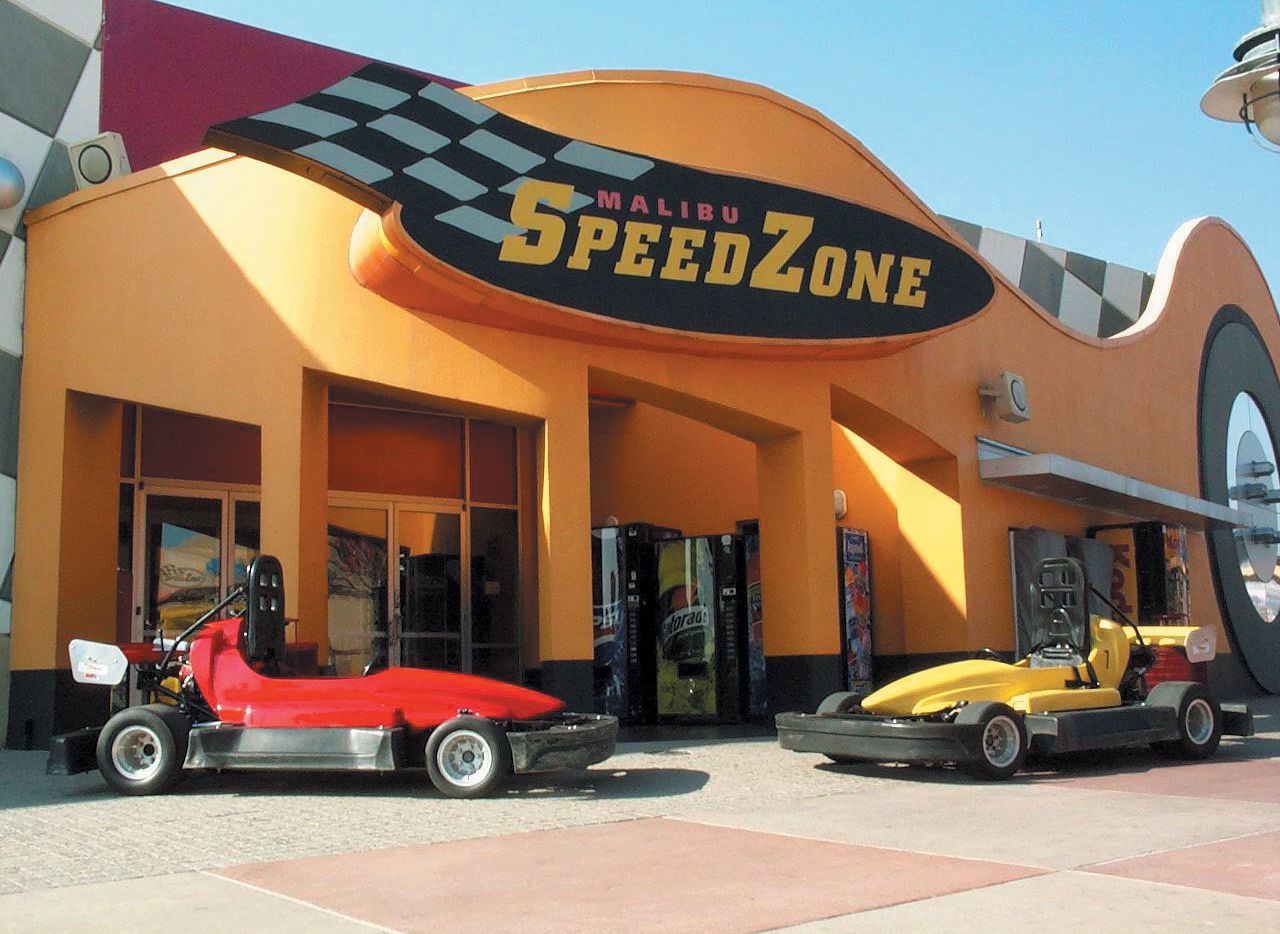 The SpeedZone racetrack and amusement center closed last year.