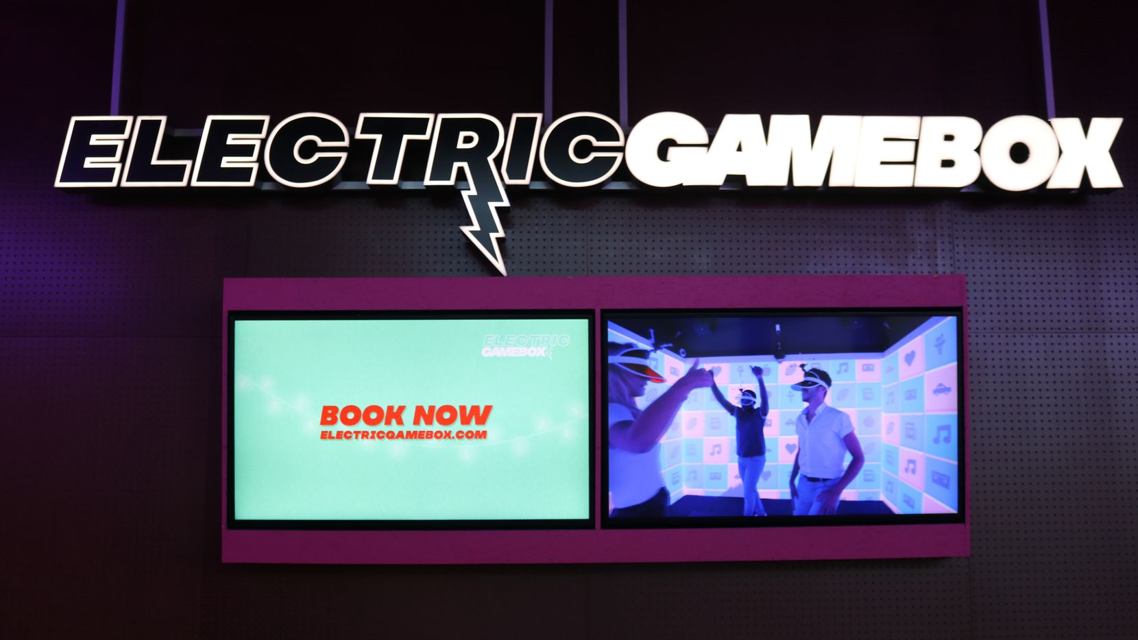 Electric Game Box opened its first U.S. location in The Colony in Grandscape. It plans to open three more locations in Texas this year as it expands internationally.