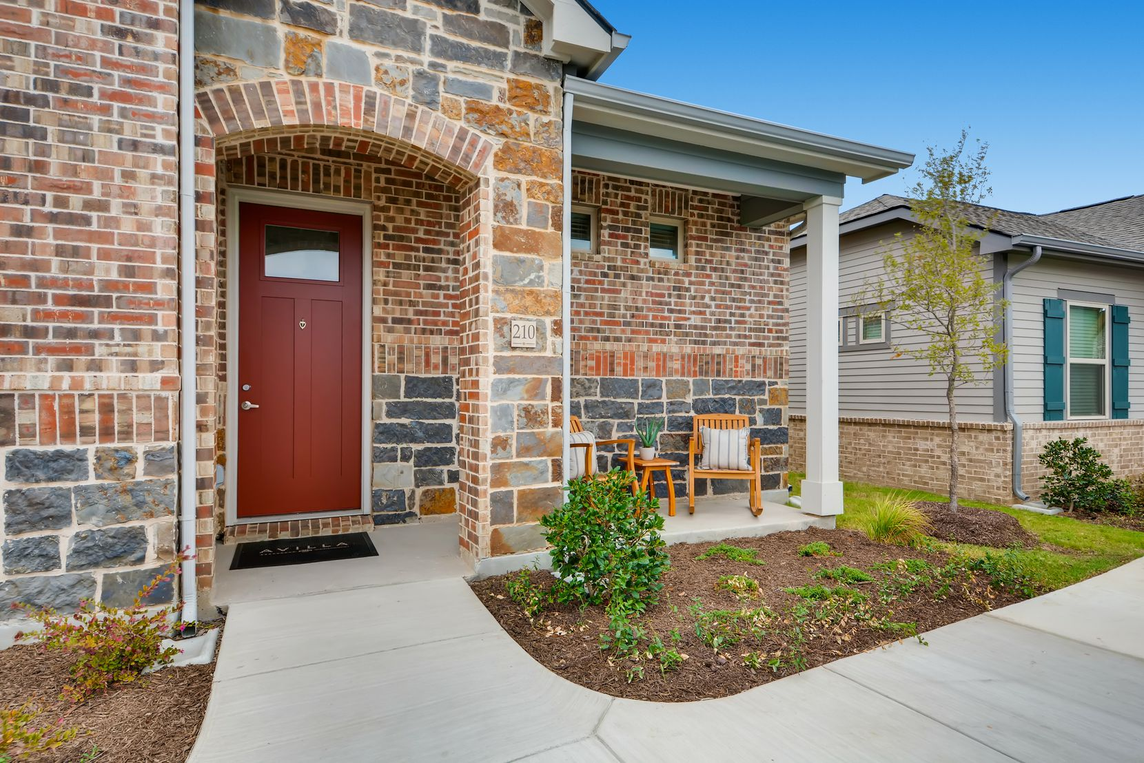 NexMetro Communities has more than a dozen rental home projects in North Texas, including this one in Grand Prairie.