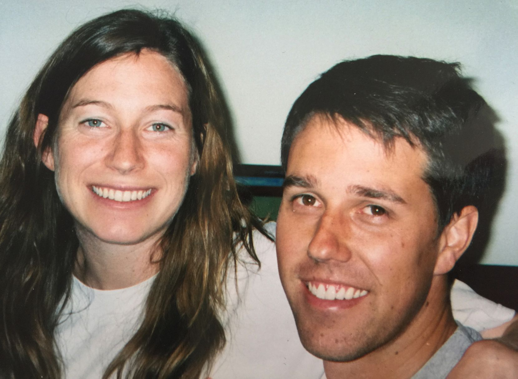 This undated family photo provided by Melissa O'Rourke, shows Amy and Beto O'Rourke. (Melissa O'Rourke via AP)