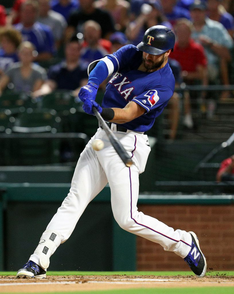 Joey Gallo and the Rangers battled the rival Houston Astros in a three-game series this week.