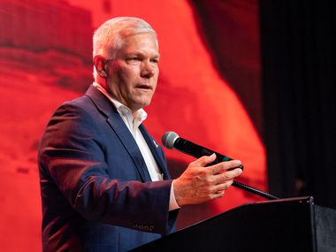 Former Rep. Pete Sessions, a Republican, is coming under scrutiny for his role in the evolving Ukraine drama. (AP Photo/Jeffrey McWhorter)