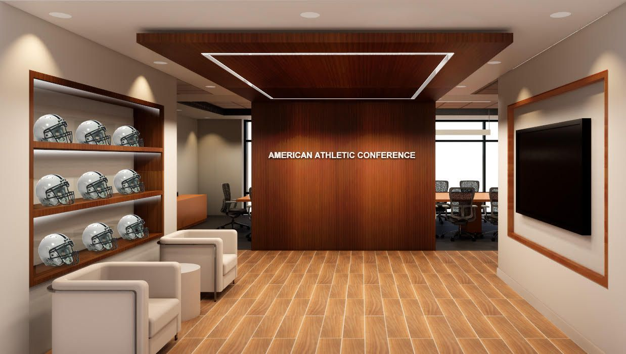 American Athletic Conference's new headquarters is in Las Colinas.