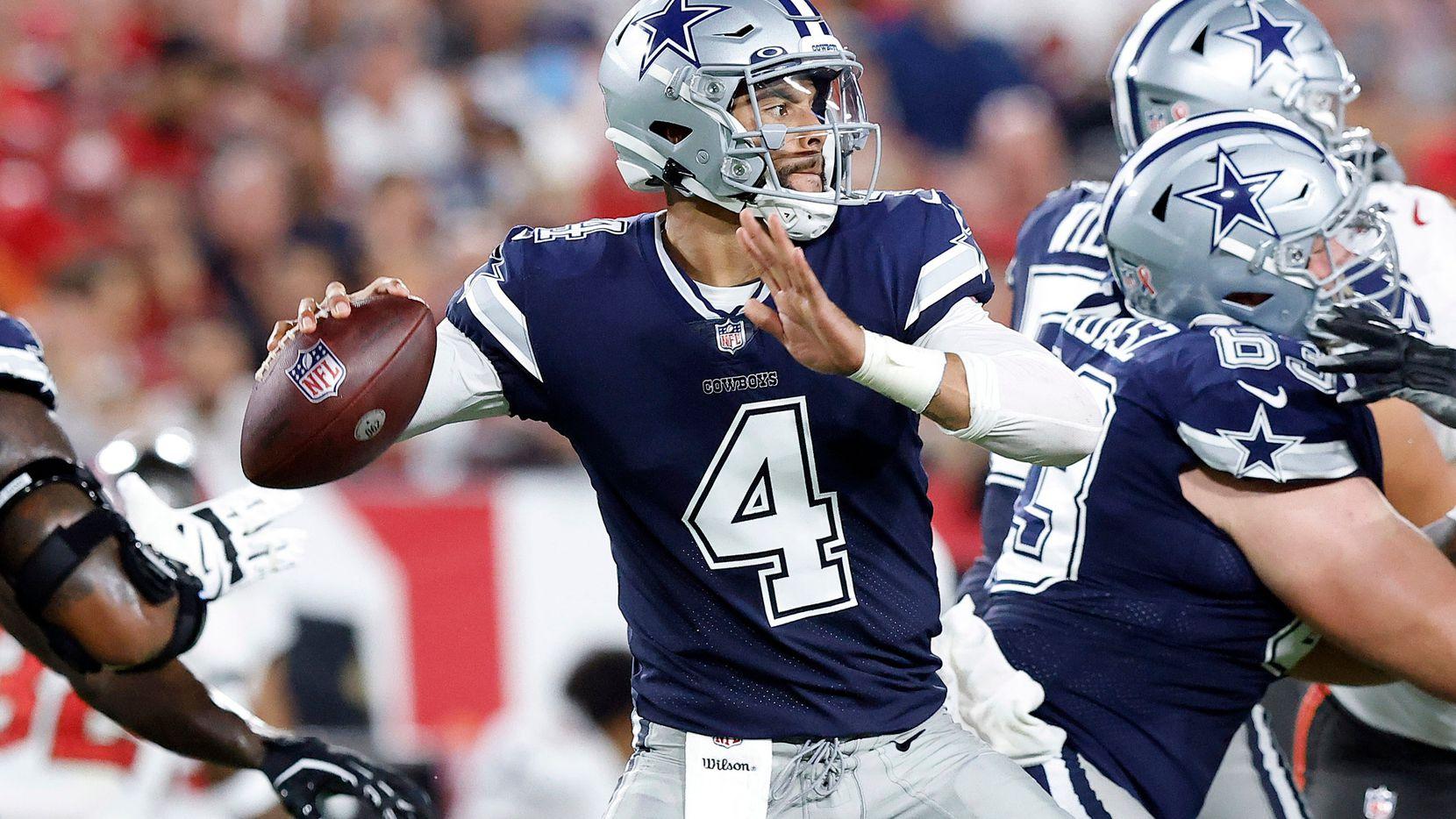 el mariscal de los Cowboys de Dallas Cowboys tendrá que tener un gran partido para que su equipo tenga oportunidad de vencer a los Chargers de Los Ángeles.