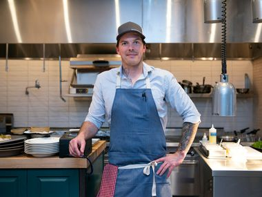 Chef Matt McCallister, who opened Homewood in February 2019, is expected to open a new restaurant in December 2019.