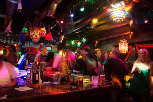 Founding owner Richard Fiaschetti called The Grapevine Bar 'like Cheers on acid.'