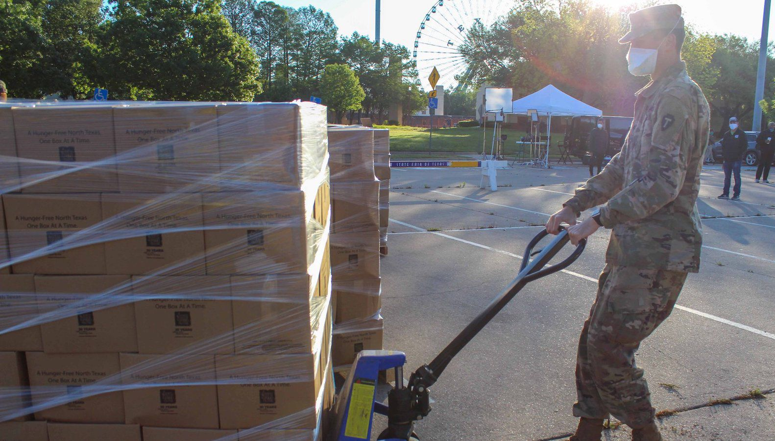 Since the start of the coronavirus pandemic, North Texas Food Bank has doubled the amount of food it distributes. According to recent research done by Feeding America, the need in our community will only continue to rise.