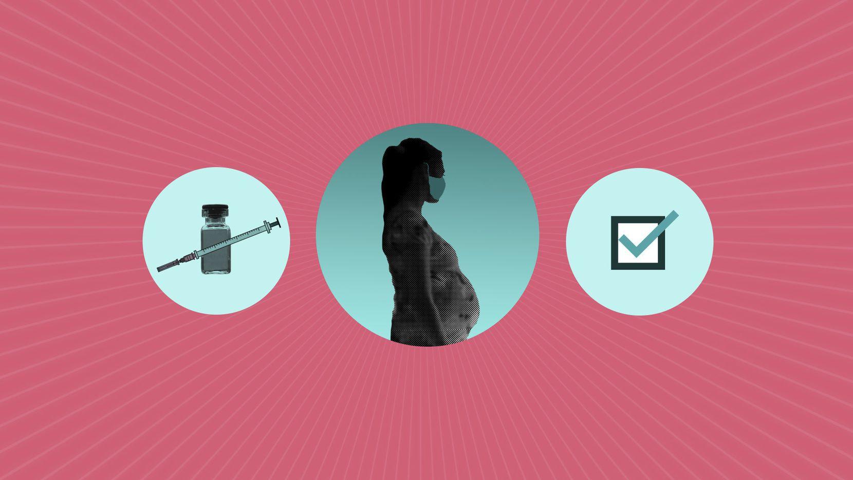 ¿Qué debe saber una mujer sobre las inoculaciones contra covid-19 si está embarazada?