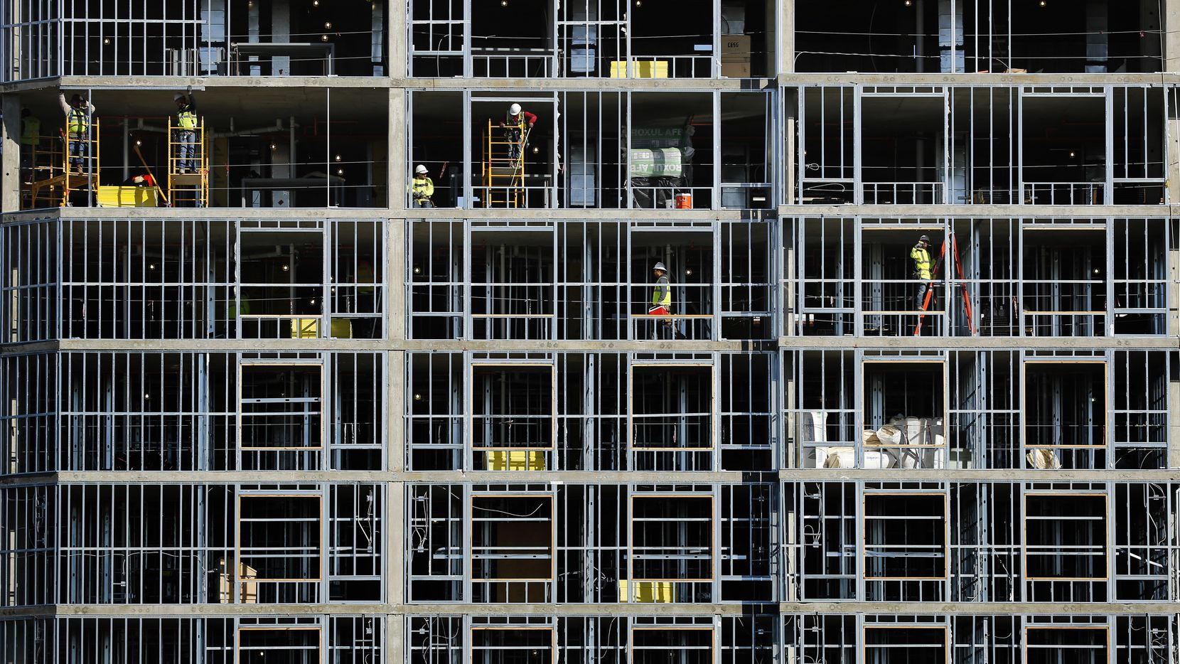 Commercial construction in D-FW is up so far this year.