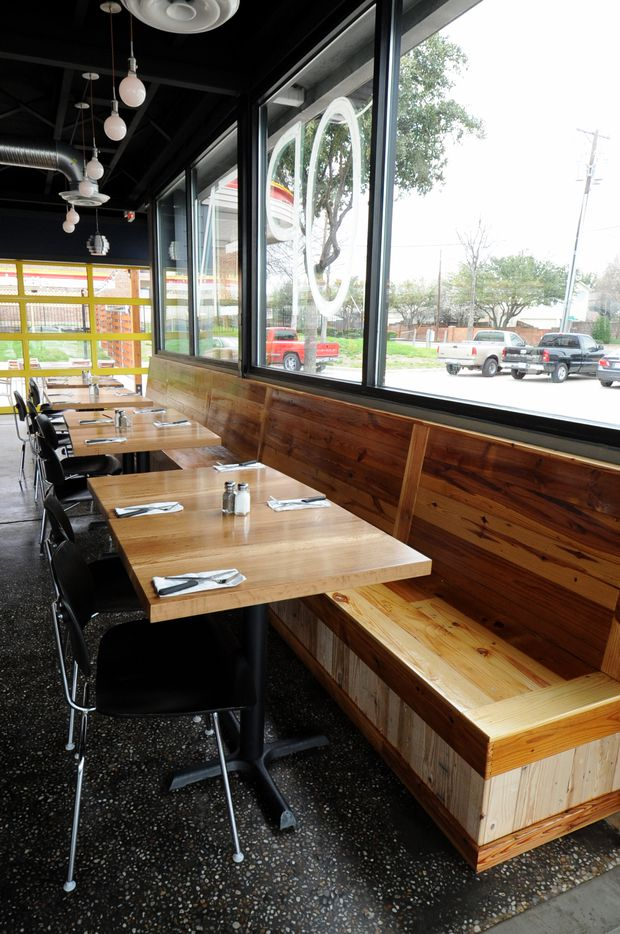 Located in former Sonic Drive-In, Spork opened March 11, 2015. The owners have retained much of the character of the original building and integrated it into their new diner. (Alexandra Olivia/ Special Contributor)