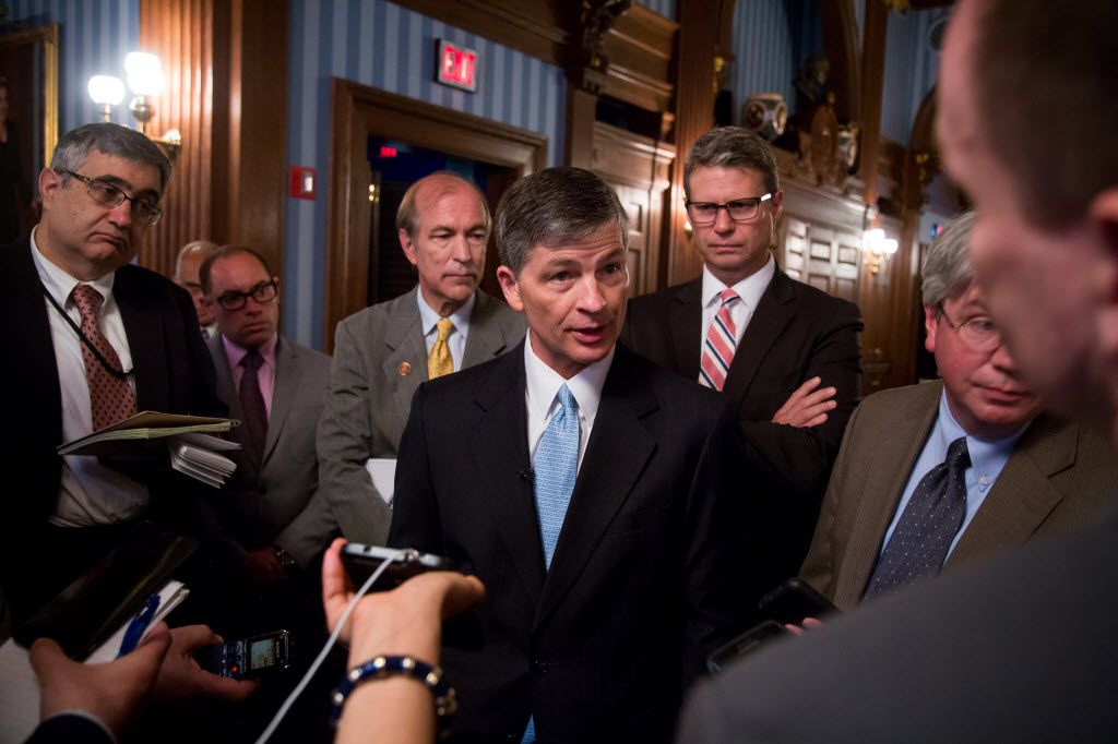 Rep. Jeb Hensarling, R-Dallas, heads the House Financial Services Committee. (Michael Nagle/Bloomberg News)