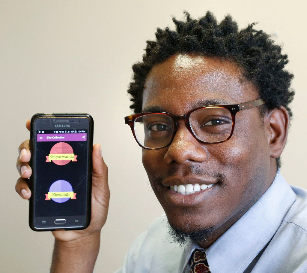 Derek Smith, 30, a caseworker at the International Rescue Committee in Dallas, created a smartphone app to help refugees and all immigrants with practical tools to navigate life in North Texas. The app is called The Collective for Refugees and Immigrants.