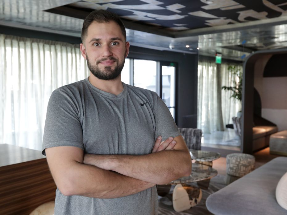 Preston Paine, chef de cuisine at Catbird, worked at Eleven Madison Park in New York City and at Commander's Palace in New Orleans. Before he became a chef, he played football at Tulane University.