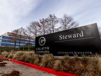 Steward Health Care, headquartered in downtown Dallas, also leased 300,000 square feet of office space in Richardson's Galatyn Commons campus.