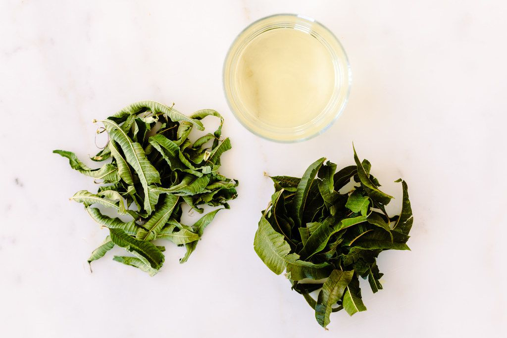 Erda Tea hand picks organically grown herbs in Napa to make whole-leaf teas.