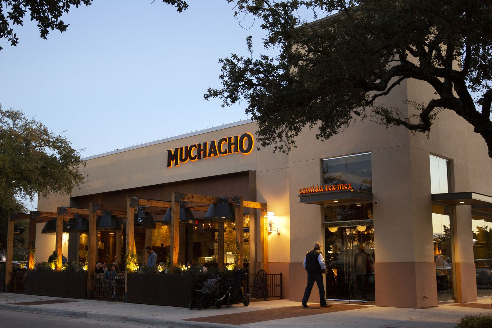 Muchacho opened in the Plaza at Preston Center on Monday.