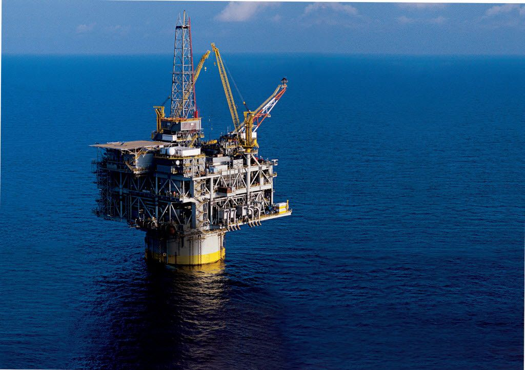 4480-009 __ Caption: Drilling preparation has been suspended at Exxon Mobil's Hoover Diana platform in the Gulf of Mexico in light of the moratorium.  Byline: Exxon Mobil Submitter: Laura Jacobus Timestamp: 2010-06-17 17:16:32 Section: BUSINESS_NB  06202010xBIZ
