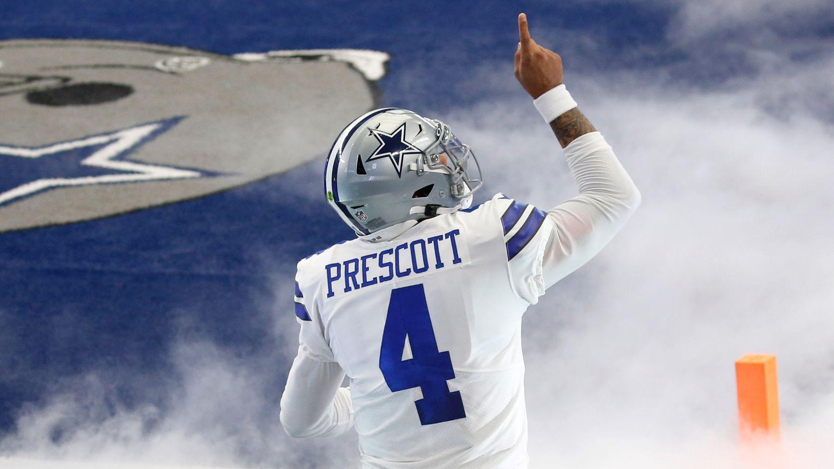El mariscal de campo de los Cowboys de Dallas, Dak Prescott, está de regreso en el AT&T Stadium para enfrentar a los Eagles de Filadelfia.
