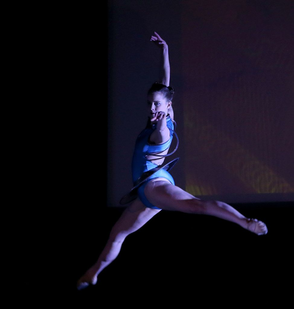 Dallas Neo-Classical Ballet company member Laura Pearson in Michael Stone's Quantum Connectivity.