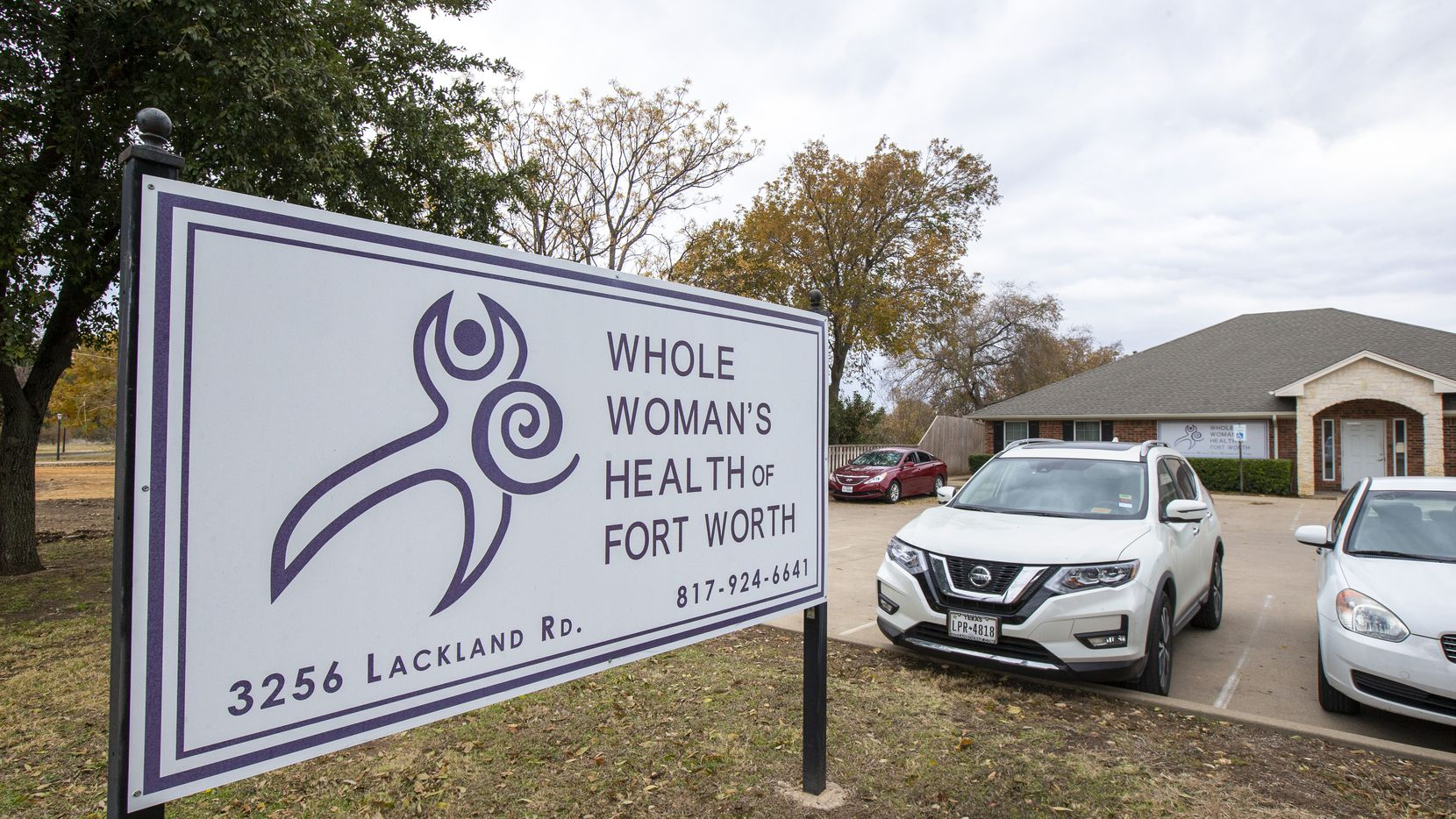 The Whole Woman's Health clinic in Fort Worth, Texas, on Thursday, November 21, 2019.  (Lynda M. Gonzalez/The Dallas Morning News)