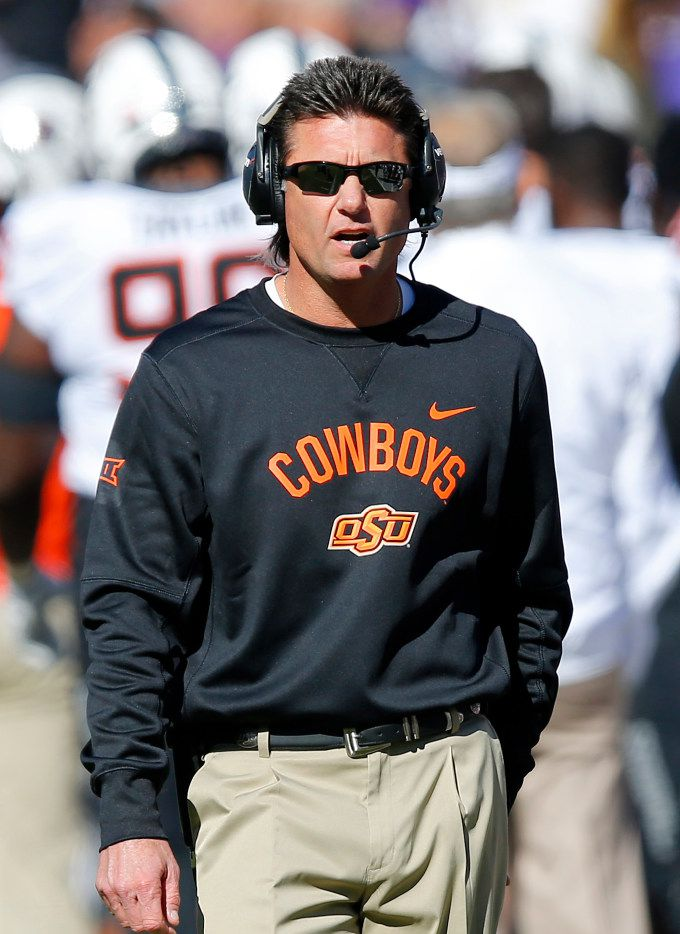 Mullet Or No Mullet Mike Gundy Seems To Have Tcu S Number