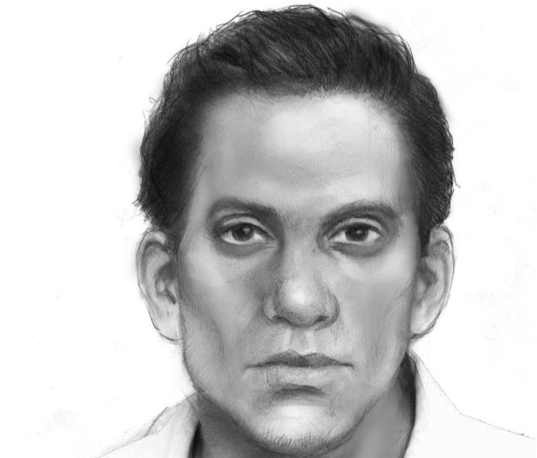 Esta es la ilustración del sospechoso del asesinato de Arnold Pinilla. La policía de Carrollton hizo un arresto el miércoles en la noche. (CORTESÍA/POLICÍA DE CARROLLTON)