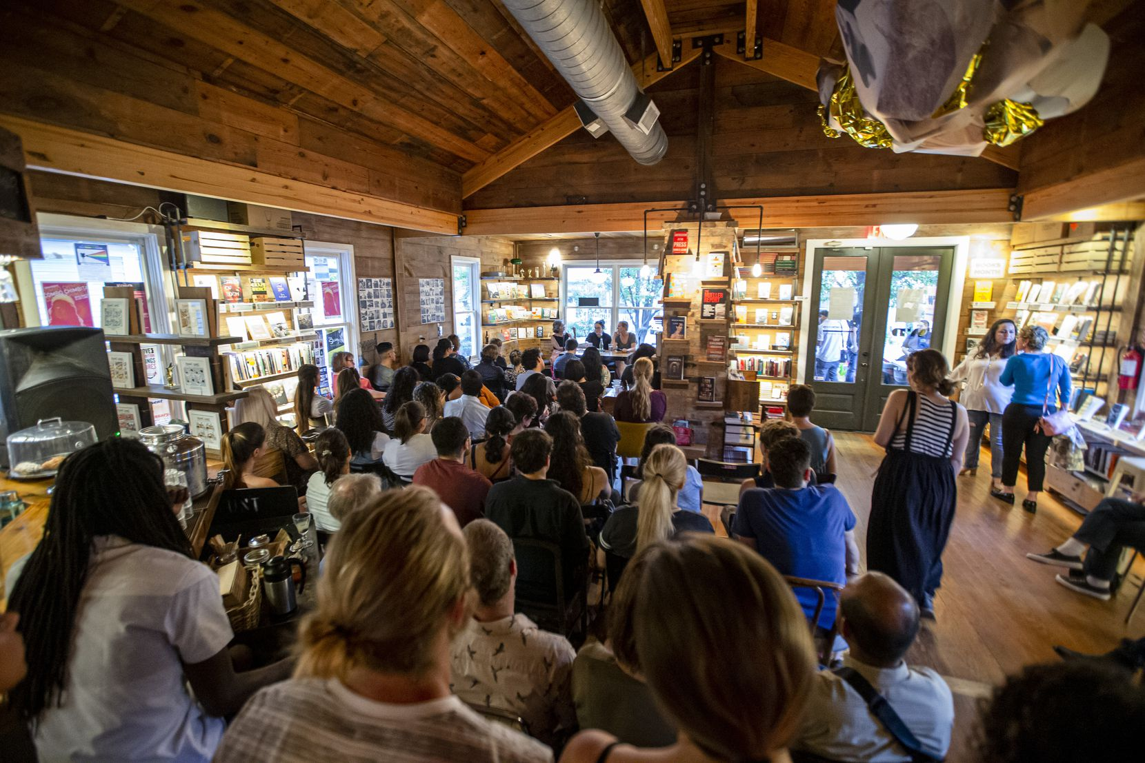 The Wild Detectives has become a gathering place for local book lovers.
