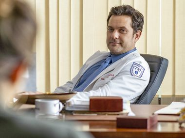 """Joshua Jackson appears as Dr. Christopher Duntsch in """"Dr. Death,"""" due out on Peacock this summer."""