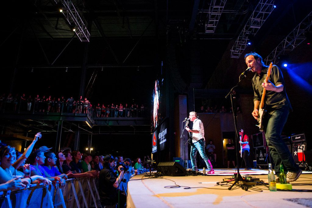The Toadies perform at the Arlington Backyard during the grand opening celebration for Texas Live. The venue can hold 5,000 concertgoers.